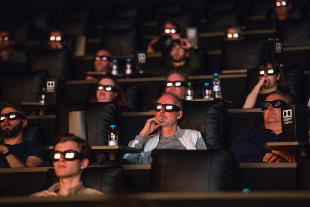 Guests at Manchester ODEON Trafford Centre enjoy a Dolby Cinema masterclass ahead of an exclusive preview screening of Ad Astra. They learned what makes Dolby Cinema so unique .jpg